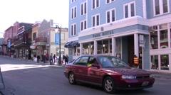 Sundance Film Festival Main Street Stock Footage