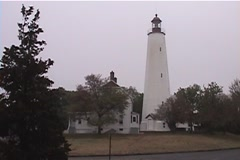 Sandy Hook Lighthouse - stock footage