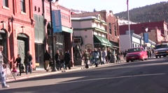 Sundance Film Festival Main Street - stock footage