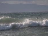 Kite Surfing 7 Stock Footage