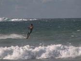 Kite Surfing 9 Stock Footage