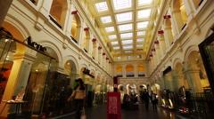 Melbourne GPO Internal Ground level Stock Footage