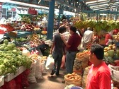 Fruitmarket Stock Footage