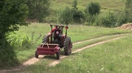 Stock Video Footage of tractor