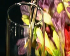 Pink Champagne Stock Footage