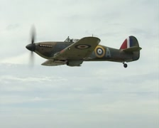 Hawker Hurricane Air To Air footage. BBMF Stock Footage