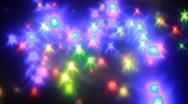 Retro disco lights. HD 1080 Stock Footage