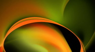 Orange green slow motion bg d6089 Stock Footage