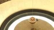 Foucault pendulum at Griffth Museum and Observatory(LA Griffth-063a) Stock Footage