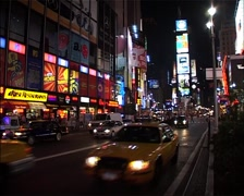 Times Square, New York USA GFSD - stock footage