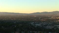 LA Skyline-48b Stock Footage