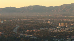 LA Skyline-50a Stock Footage
