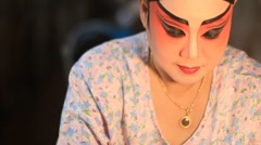 Chinese opera Stock Footage