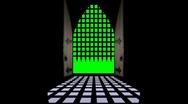 Gate open-Green screen Stock Footage