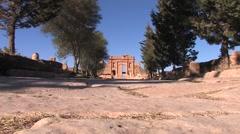 Roman City of Sbeitla, Tunisia Stock Footage