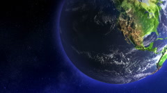 Earth Globe Rotating, Loop - stock footage