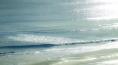 Beach Deep Colors Two Stock Footage