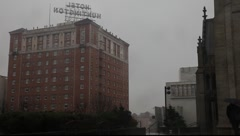 Nob Hill Hotel  - stock footage