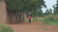 Stock Video Footage of Africa: female outdoor market vendor