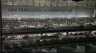 Stock Video Footage of SFO Airport