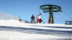 Stock Video Footage of andorra ski04