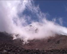 Chimborazo, at base of volcano Stock Footage
