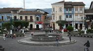 Stock Video Footage of Andean town, Sangolqui, near Quito Ecuador