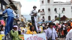 The Sangolqui Fiestas, September 2010 Stock Footage