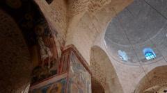 Monastery of the Cross church P3 Stock Footage