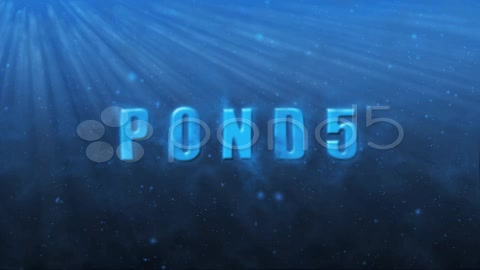 After Effects Project - Pond5 UNDERWATER 3D SCENE 1075493