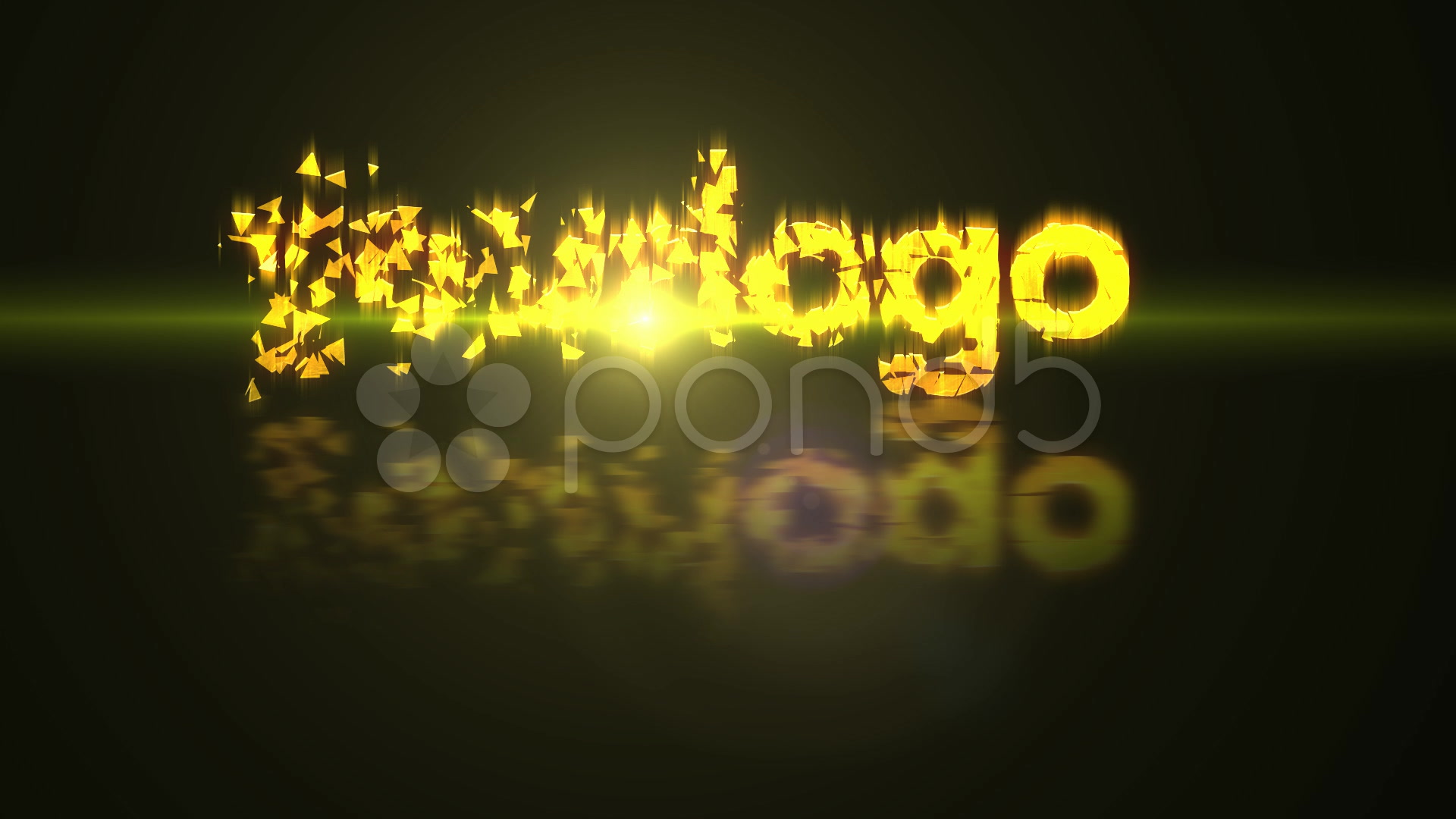 After Effects Project - Pond5 shatter text version 2 1075555