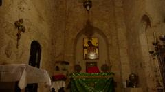 Monastery of the Cross church P6 Stock Footage