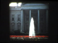 White House 1957 Stock Footage