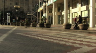 City pablic park in Seattle Stock Footage