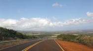 Waimea Canyon Road, Kauai, Hawaii timelapse Stock Footage