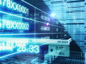 Stock Exchange Intro Animation with Alpha Matte PAL Stock Footage