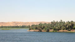 Egypt Nile Cruise Stock Footage