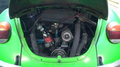 Vintage engine running Stock Footage