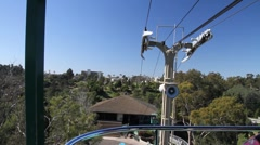 Sky tram  Stock Footage