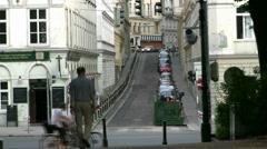 Urban Street Vienna Stock Footage
