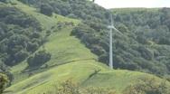 Single Windmill Stock Footage