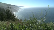 Stock Video Footage of California Coastal View