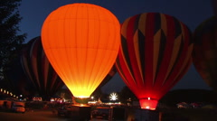 Hot Air Balloons 2024 Stock Footage
