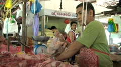 Stock Video Footage of Meat shop
