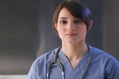 Healthcare worker. SD. Stock Footage