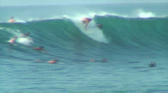 Pro Surfer 7, Honolua Bay Stock Footage