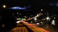 Stock Video Footage of freeway time lapse