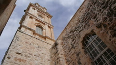 Monastery of the Cross P5 Stock Footage