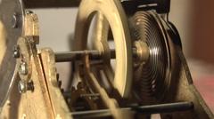 Clockwork works Stock Footage