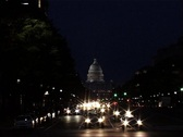 US Capitol at Night, Washington, DC_GFSD Stock Footage